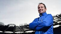 Hurling fanatic Davy Fitzgerald couldn't stay away from the game