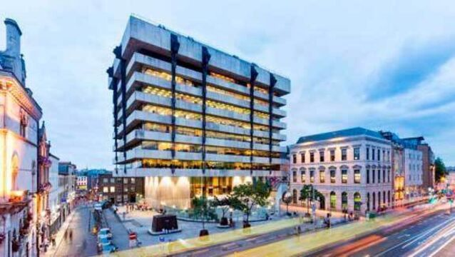 Sam Stephenson-designed tower and two other lots come to market as Central Bank relocates