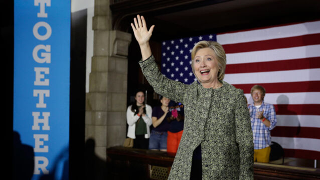 Fourth Estate nails its colours to Hillary Clinton mast