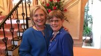 The Dublin woman 'overwhelmed with joy' at Clinton's rise