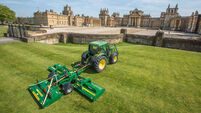 Major mower from Mayo the choice at the Palace