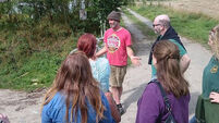 Oliver Moore: Ideas exchanged at eco village visits