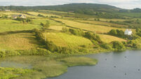 38 acres with lake and road frontage in Leap, West Cork