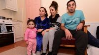 Refugees in Ireland: 'Our sister drowned on the raft and my baby was just eight weeks old'