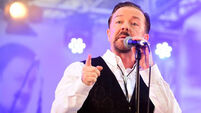 David Brent is striking a very different note