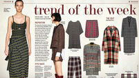 Trend of the week: Check prints