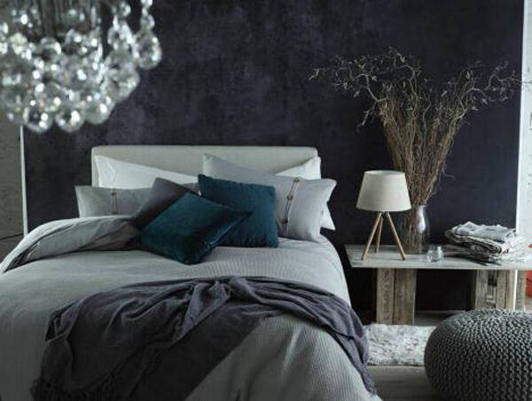 With the nights drawing in, the focus is on the coziest room in the house, the bedroom. I love these great grey colour combos from Heatons. Check them out at www.heatonsstores.com