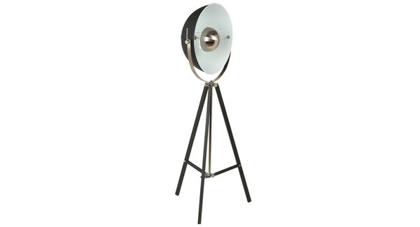 The right lighting can transform any space. I love this Conran Monty floor lamp from Marks & Spencer, €300. Move it around as you see fit.