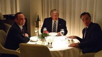 Donald Trump and Mitt Romney went for dinner and the internet went meme crazy