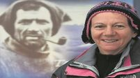 Tom Crean's granddaughter Aileen to recreate his epic journey