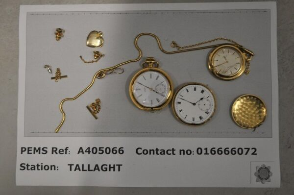 If you're walking round without your pocket watches, you may be able to get them in Tallaght. Pic: garda.ie