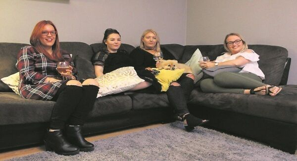 Dublin girls Jamie, Lindsay, Ashley and Gráinne are reality TV addicts and their ideal Friday night involves the sofa, the telly, a gossip session and copious amounts of white wine.