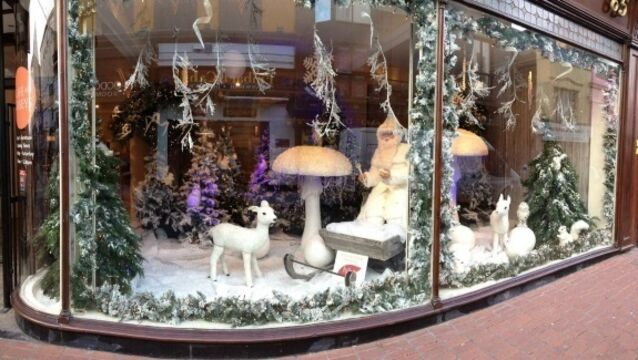How Cork's retailers turn their windows into a winter wonderland