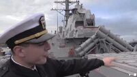 Ever wondered what it would be like aboard a USS destroyer. Wonder no more.