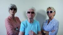 Have you seen these Tralee grannies' rendition of 'Wrecking Ball'?