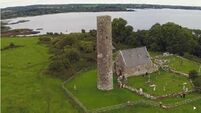This stunning drone footage of Lough Derg's Holy Island reveals why many believe the Pope should visit