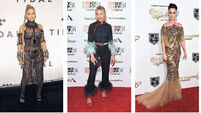 On the red carpet: Beyoncé, Sienna Miller, Katy Perry, Ashley Madekwe