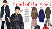 Trend of the week: The puffer coat