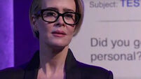 Sarah Paulson's dramatic reading of Hillary Clinton's emails will have you in stitches
