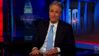 Jon Stewart came out of hibernation again to remind America what they are voting for