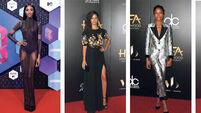 On the red carpet: Jourdan Dunn, Camila Alves, Naomie Harris, Leslie Mann