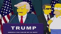 President Trump and smart watches - The Simpsons has a knack for predicting the future