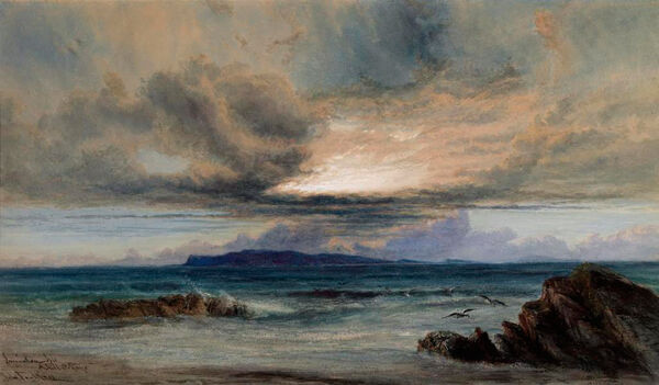 From the exhibition of recent acquisitions at the National Gallery John Faulkner (1835-1894) Inniskea Isle, Achill