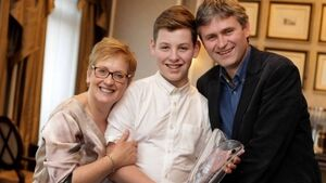 Brother becomes youngest ever Young Carer of the Year