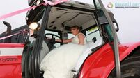 Pics: This bride drove a Massey Ferguson to the church on her wedding day