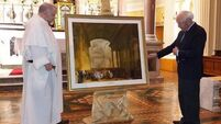 Replica of historic Cork painting presented to Cork Dominican church