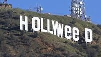 This artist says he was responsible for the 'Hollyweed' sign and explains why he did it