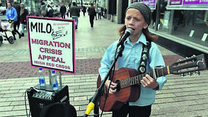 13-year-old Milo McCarthy is the man of the moment