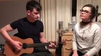 Watch: Two Cork teens take on Ed Sheeran's 'Castle On The Hill' as a duet and its just lovely