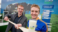 Henry Shefflin and Noel McGrath highlight the importance of dairy in sports nutrition