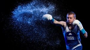 David v Goliath? Paddy Barnes is up to his old tricks on Twitter again