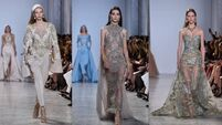 Watch the Elie Saab Show at Paris Fashion week for all the latest couture trends