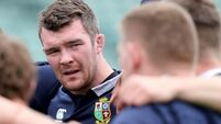 Peter O'Mahony learns from Lions role
