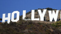 The Hollywood sign was altered to read something very different indeed…