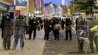 Police tactics 'failed' during UK riots