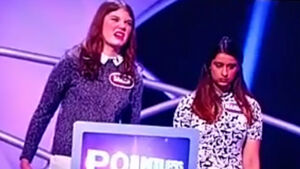 If looks could kill: Teammate's disgusted reaction to terrible Pointless answer