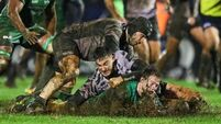 Connacht battle rain to blow Zebre away