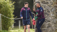Garry Ringrose ready to step up as Jared Payne a serious doubt