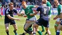 Ireland hopes dashed despite Jack Kelly tries