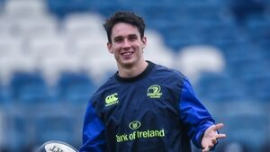 Joey Carbery to make first start at full-back for Leinster