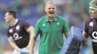 Joe Schmidt: 'We're not happy to be where we are but we're excited about the challenge we face'