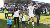 Ruan Pienaar waves goodbye to Ulster
