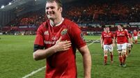 Donnacha Ryan prepares for an emotional Thomond farewell