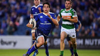 Returning Joey Carbery set to be centre of attention as Leinster prepare for Edinburgh