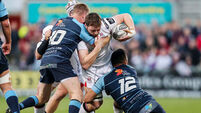 Ulster's play-off hopes dented