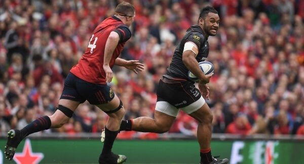 Billy Vunipola playing for England against Ireland